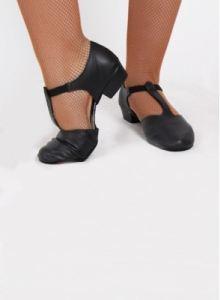 imagen Zapatos profesora tacón
